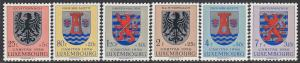 Luxembourg   B192-7 MH - Coats of Arms