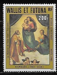 Wallis and Futuna Islands C128 Christmas single MNH