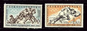 Czechoslovakia 965-66 MNH 1960 Olympics