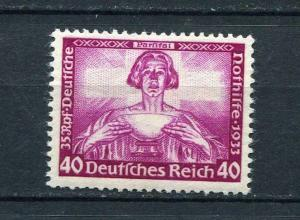 Germany 1933 SC B57 MI 507A MNH Wagner set. Key stamp. Music. CV 950 euro