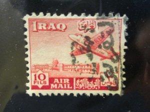 Iraq #C4 used 2019 SCV= $1.00