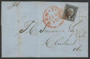 MALACK 2 XF on cover, well centered stamp, fresh col..MORE.. k0827