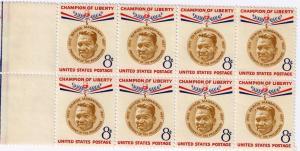 US SC# 1096 Block of 8 Magsaysay Champion of Liberty MNH VF