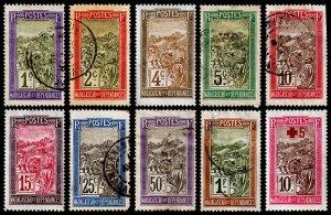 Madagascar - Malagasy Republic Scott 79//B1 (1908-16) U/M H F-VF, CV $5.60 C