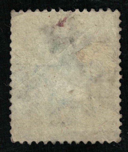 India, Half Anna, Overprint: On H.M.S. Watermark: Star (T-5830)