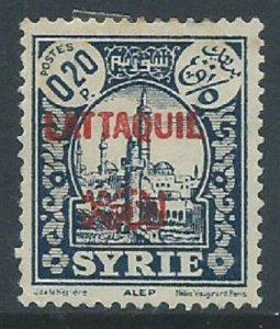 Latakia, Sc #3, 20c MH