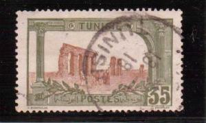 Tunisia  Scott#  43  Used