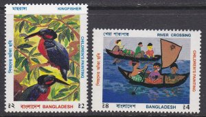 Bangladesh Sc #529-530 MNH