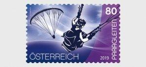 H01 Austria 2019  Sport and Air – Paragliding  MNH Postfrisch