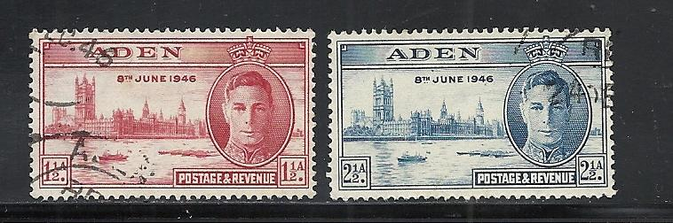 Aden #28-9 comp used cv $2.50