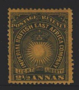 British East Africa Sc#17 MH