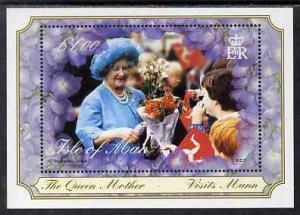 Isle of Man 2000 Queen Elizabeth, the Queen Mother\'s Cen...
