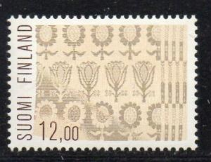 Finland Sc 718 1985 12m Tablecloth stamp mint NH