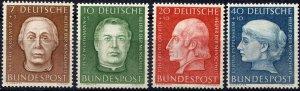 BRD Germany    Sc.# B338-41   MNH**