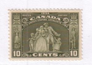 Canada Sc 209 1934 10c United Empire Loyalists stamp mint