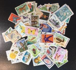 Cuba BIG LOT of stamps (miscellaneous)