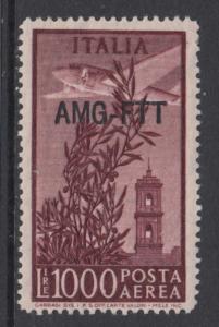 ITALY - TRIESTE - AMG-FTT - n.A26 MNH** cv 250$ - SUPER CENTERED