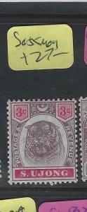 MALAYA SUNGEI UJONG   (P1802B)  TIGER  3C  SG 55    MOG