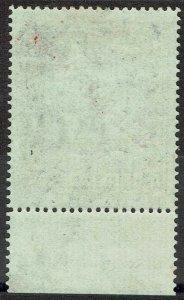 MALTA 1922 SELF GOVERNMENT OVERPRRINTED ST PAUL 10/-