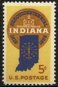 United States 1966 Scott# 1308 MNH