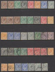 KUT, Kenya & Uganda 1922-27 Issue (mint/used) (2 scans)