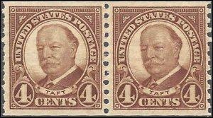687 Mint,OG,NH/HR...  Pair... SCV $7.50