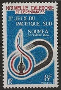 New Caledonia 344 h