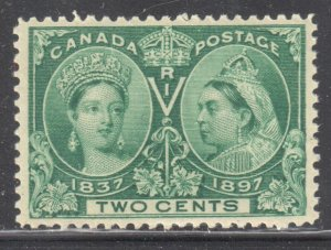 Canada #52 Mint XF NH Jubilee $150.00 -- Perfect Centering