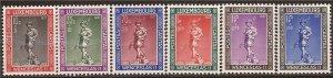 Luxembourg - 1937 Duke Wenceslas II - 6 Stamp Set MNH - Scott #B79-84