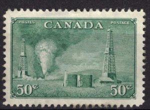 CANADA - 50c Oil Wells SC294 Used