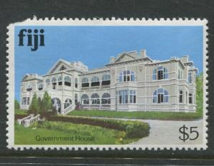 Fiji - Scott 425 - Buildings Issue 1979- MNH - Single $5.00 Stamp
