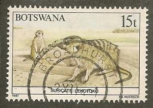 Botswana     Scott  413    Animal , Fauna     Used