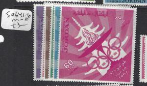 JORDAN  (P2909B)  OLYMPICS SG 641-6   MNH
