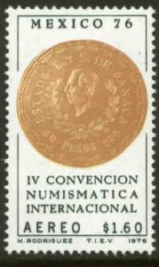 MEXICO C519 International Numismatic Convention MINT, NH. VF.