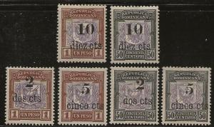 DOMINICAN REPUBLIC SC #   151 - 6   MHR