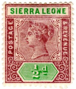 Sierra Leone Scott 34 (1896: Queen Victoria)