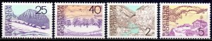 Liechtenstein. 1973. 596-99. Landscapes. MNH.