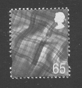 Great Britain Scotland  #17  1999   MNH  Tartan  65p.