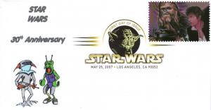 Star Wars FDCs (w/ DCP cancel) from Toad Hall Covers!