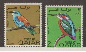 Qatar Scott #279-280 Stamps - Mint Set