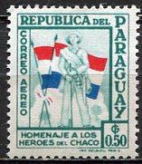 Paraguay; 1957: Sc. # C237: */MH Single Stamp