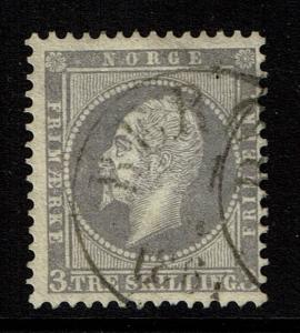 Norway SC# 3, Used - Lot 012917