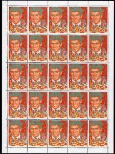 Comoro Islands 1988 Sc#674 KASPAROV CHESS MASTER COLOR PROOFS SHEETLETS UNIQUE!!