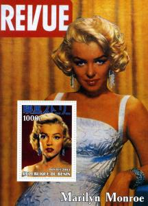 MARILYN MONROE s/s Perforated Mint (NH)