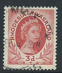Rhodesia & Nyasaland SG 4 FU