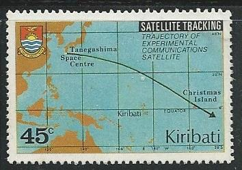Kiribati  ^ Scott # 350 - Used