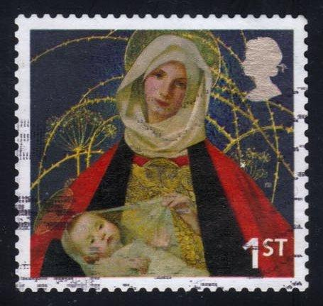Great Britain #2329 Madonna and Child, used (0.25)