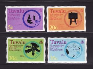 Tuvalu 46-49 Set MNH South Pacific Commission (A)