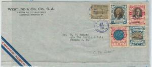 79019  - GUATEMALA - Postal HIistory -  OVERSIZED COVER 1938 - MAPS G Washington