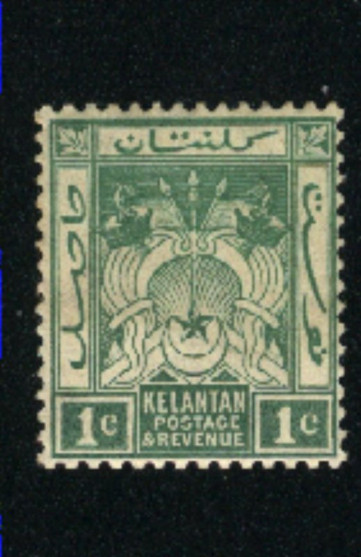 Malaya-Kelatan #1   -3  Mint  1911-15 PD